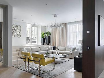 美式优雅三居室