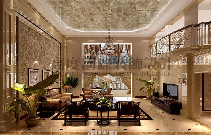 御翠尚府 四室两厅 欧式 260平米 16平米 高度国际 希文 客厅图片来自高度国际装饰宋增会在高丶大丶上的分享