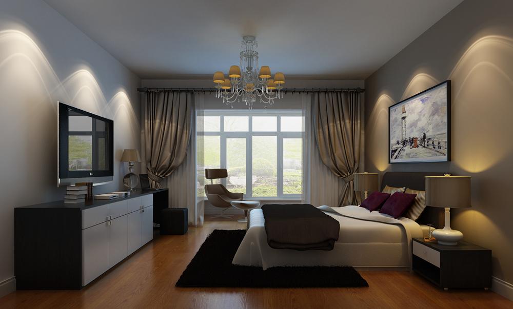 简约 别墅 白领 别墅装修 装修设计 装修风格 现代 卧室图片来自尚层别墅设计在澳景园 现代简约的分享