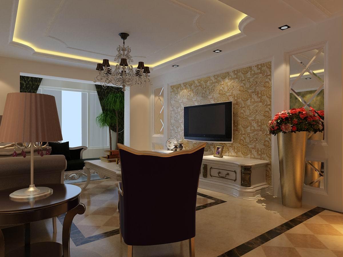 三居 欧式 客厅图片来自百家设计小刘在中海寰宇天下127平的分享