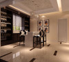 地下室酒吧区域的设计,主要体现了我们江苏师傅的手工,现场制作酒柜,现场油漆,这样做好之后能和整个空间衔接起来。