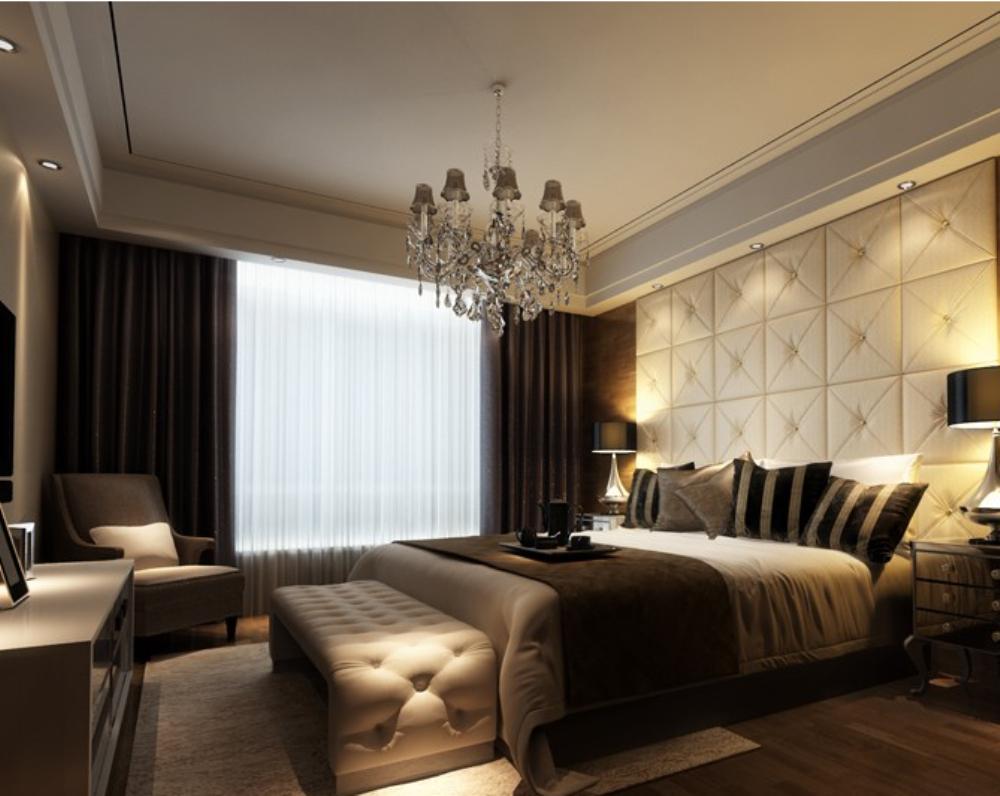 欧式 三居 小资 卧室图片来自天津宜家宜装饰在假日风景的分享