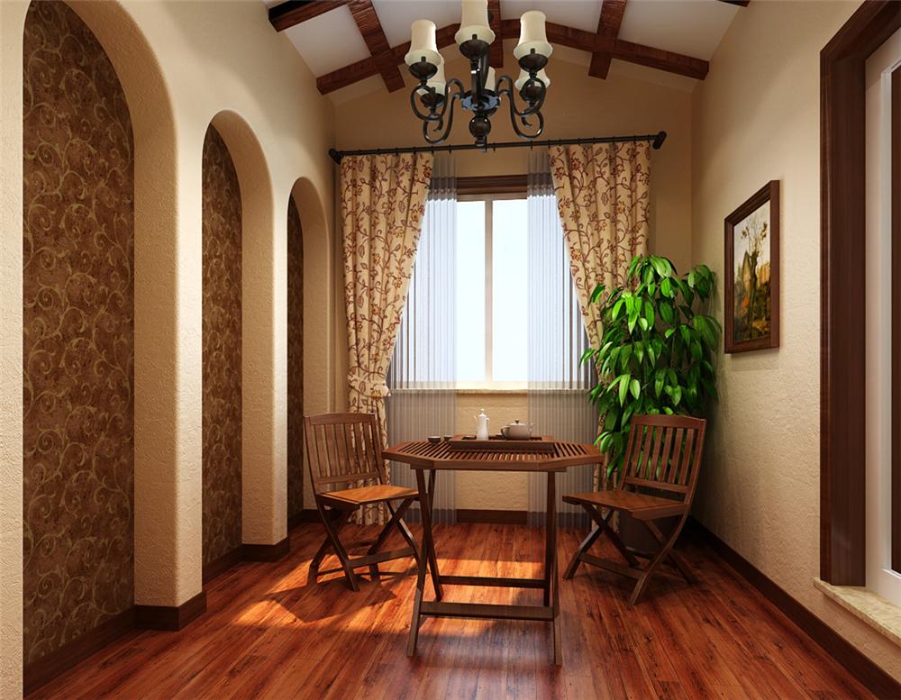 别墅 白领 收纳 80后 小资 阳台图片来自实创装饰完美家装在复古典雅恬淡洒脱恬淡浪漫的分享
