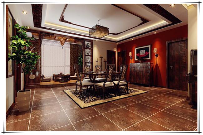 方林装饰 方林体验馆 方林公装 方林家装 方林木工 方林瓦工 方林油工 方林设计 方林大宅 餐厅图片来自方林装饰在165平新世界中式风格的分享