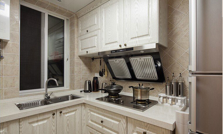 简约 欧式 田园 混搭 别墅 白领 80后 小资 厨房图片来自上海倾雅装饰有限公司在65平米小美式风的分享