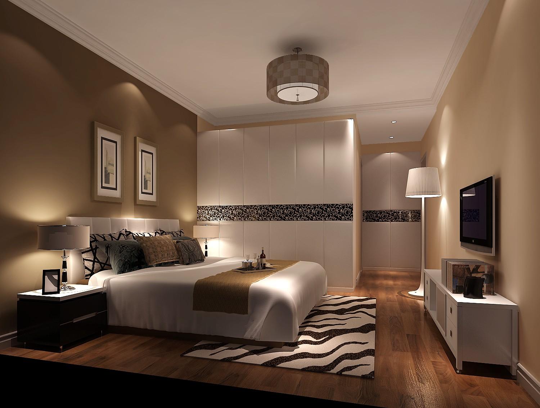 影人四季 高度国际 现代 简约 三居 公寓 白领 80后 屌丝 卧室图片来自北京高度国际装饰设计在影人四季现代简约平层公寓的分享