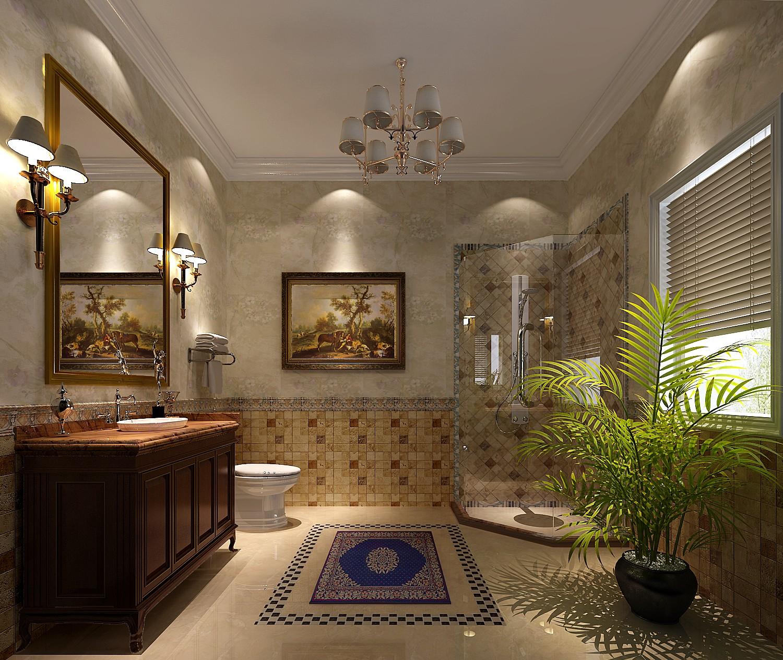 别墅 托斯卡纳 小资 收纳 卫生间图片来自沙漠雪雨在君山高尔夫425平托斯卡纳别墅的分享