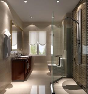简约 欧式 鲁能7号院 高度国际 别墅 三居 白领 白富美 高富帅 卫生间图片来自北京高度国际装饰设计在欧式鲁能成就品质生活的分享