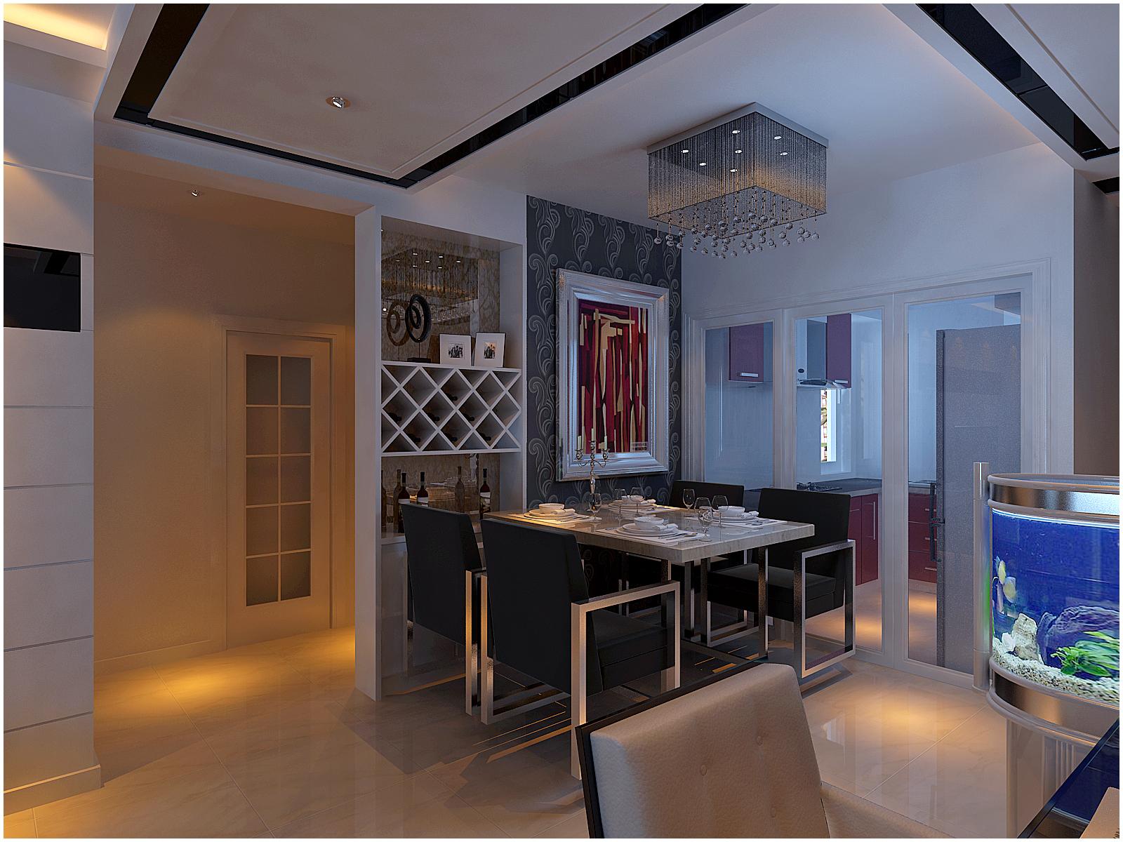 简约 二居 客厅图片来自百家设计小刘在金地滨河90平的分享