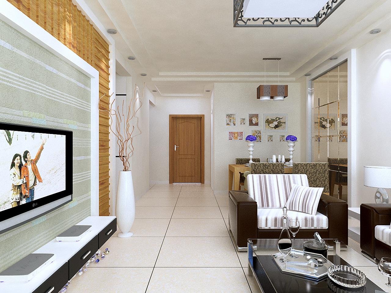 简约 白领 收纳 小资 80后 客厅图片来自今朝李小慢在天房雅韵---现代的分享