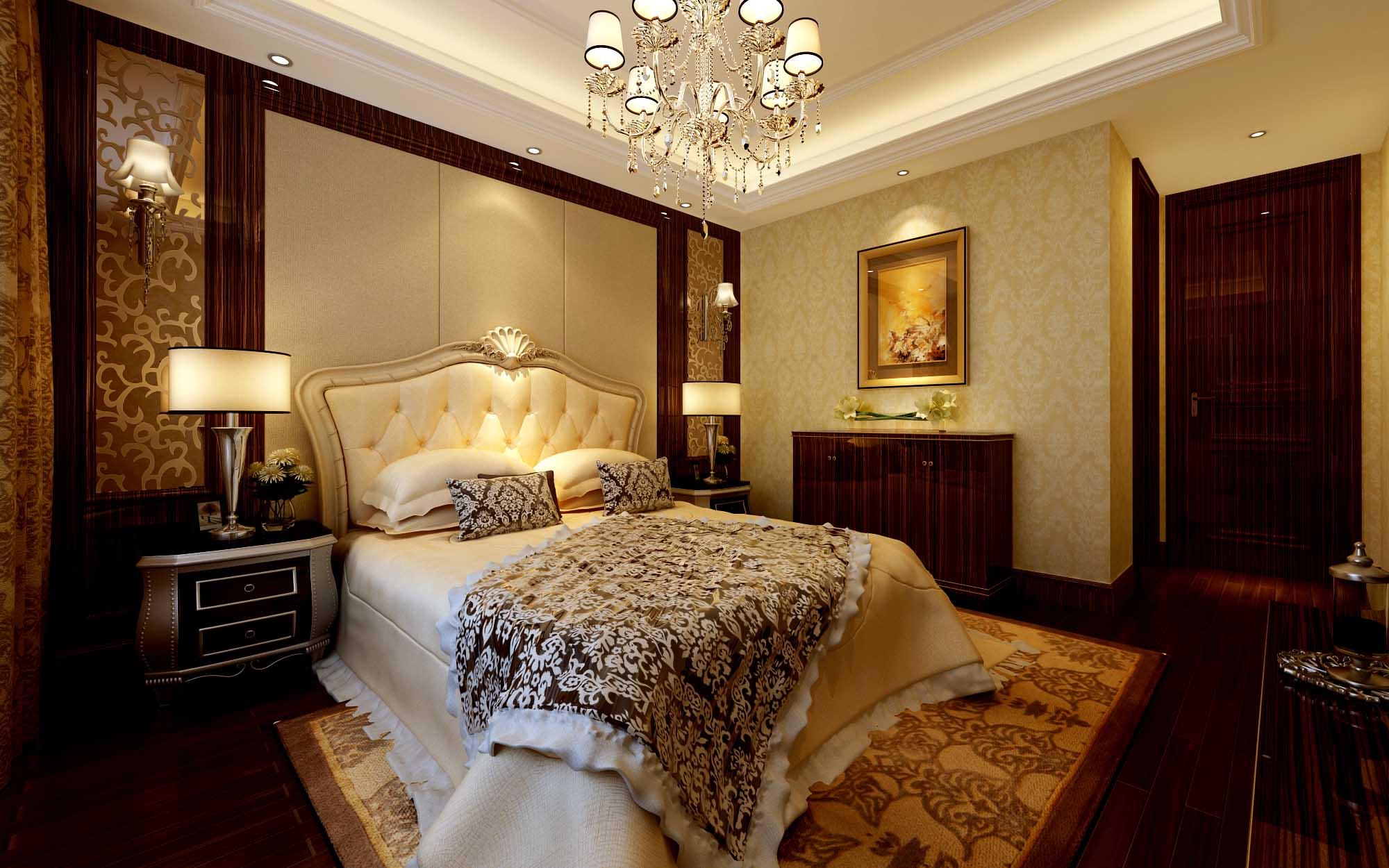 欧式 别墅 80后 白领 卧室图片来自今朝李小慢在运河城--欧式奢华的分享