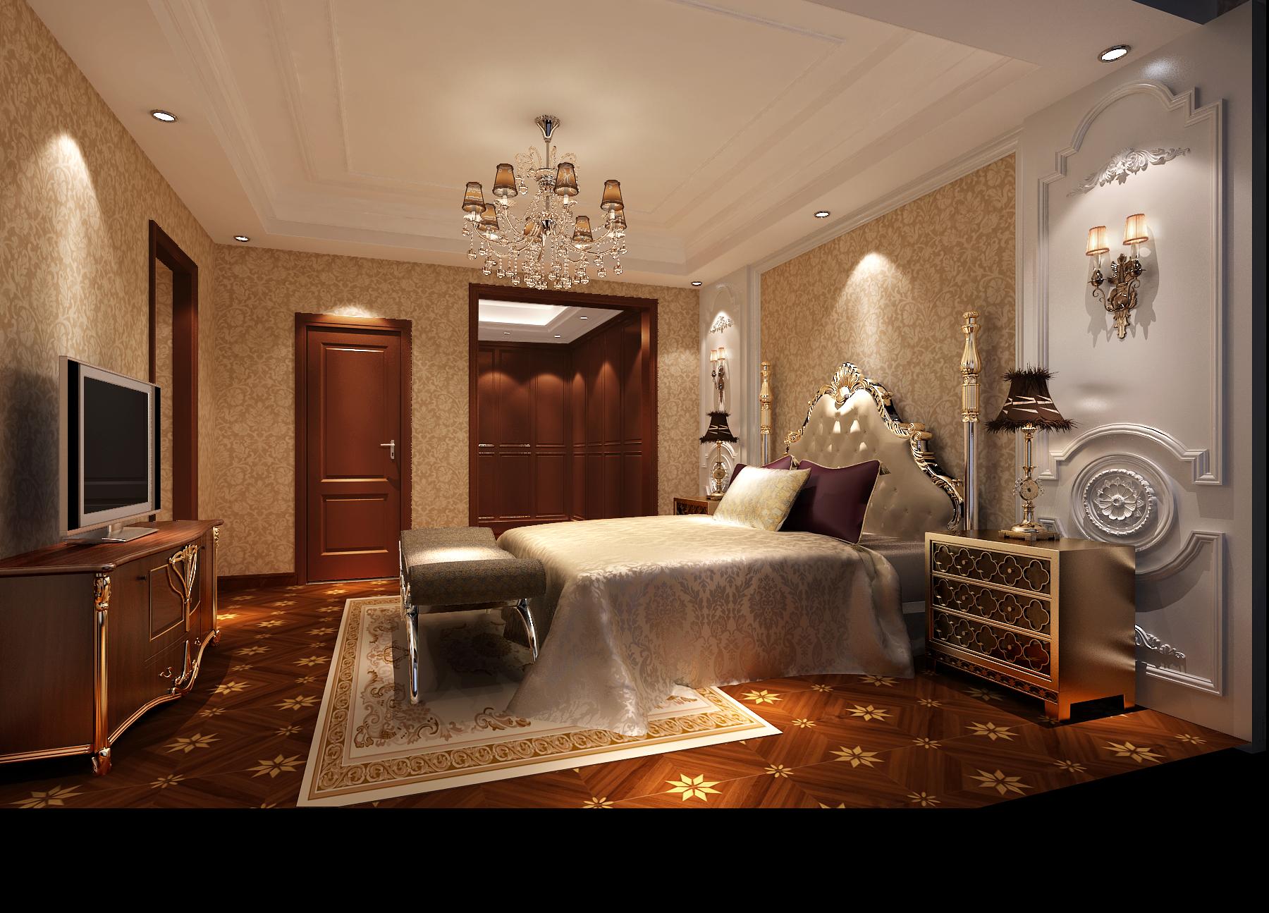 简欧 卧室图片来自周楠在潮白河孔雀城的分享