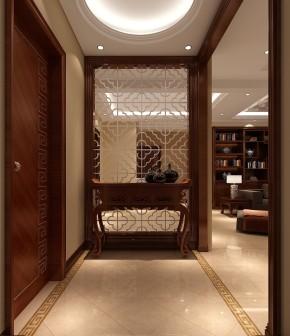 简约 欧式 鲁能7号院 高度国际 别墅 三居 白领 白富美 高富帅 玄关图片来自北京高度国际装饰设计在欧式鲁能成就品质生活的分享