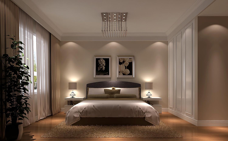 卧室图片来自沙漠雪雨在金色漫香苑140平简约三居的分享