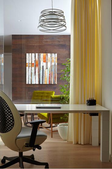 简约 欧式 田园 混搭 二居 三居 白领 收纳 旧房改造 书房图片来自上海倾雅装饰有限公司在美式优雅三居室的分享