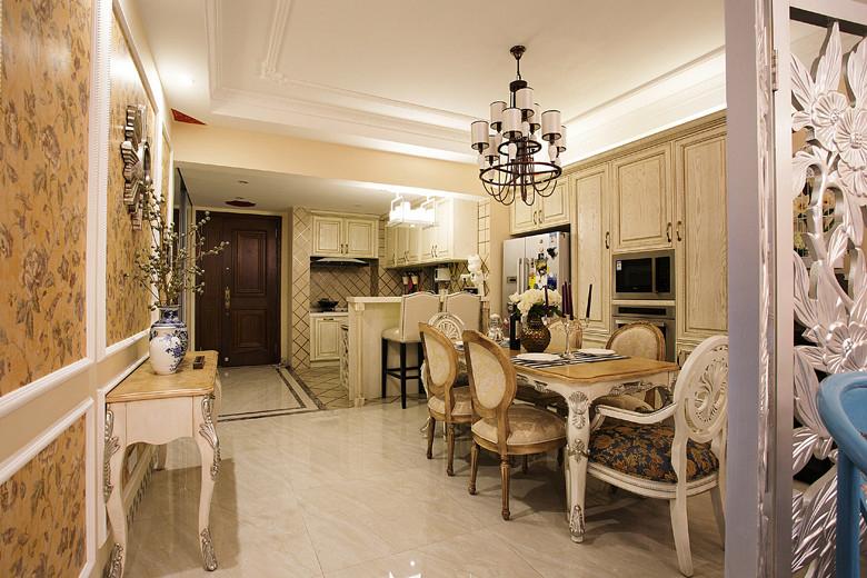 田园 混搭 三居 客厅 卧室 白领 餐厅 厨房 80后图片来自石家庄今朝装饰家居专家在【天山熙湖】121㎡ 装修效果案例的分享