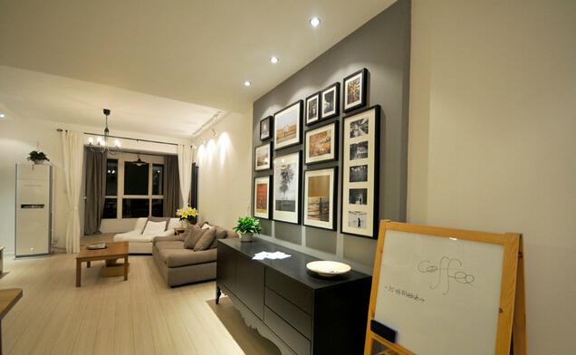 简约 欧式 田园 混搭 二居 别墅 客厅 厨房 收纳图片来自上海倾雅装饰有限公司在97平简约两室的分享