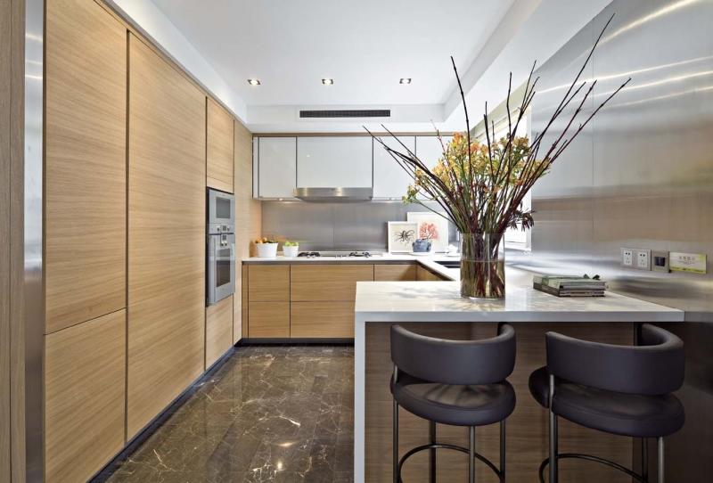 简约 别墅 四居 成都装修 成都装饰 厨房图片来自华西装饰集团在悦水蓝山315m²自然简单的分享