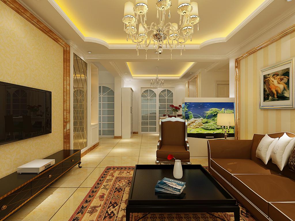 简约 三居 客厅图片来自百家设计小刘在运河湾3号116平的分享