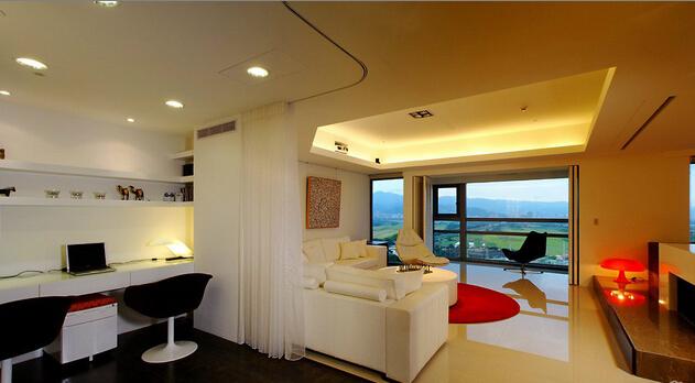 简约 田园 混搭 二居 旧房改造 客厅图片来自上海倾雅装饰有限公司在蓝色港湾的分享