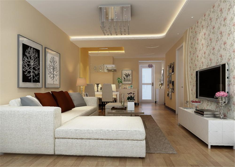简约 二居 白领 收纳 客厅图片来自实创装饰完美家装在少就是多,简洁就是丰富的分享