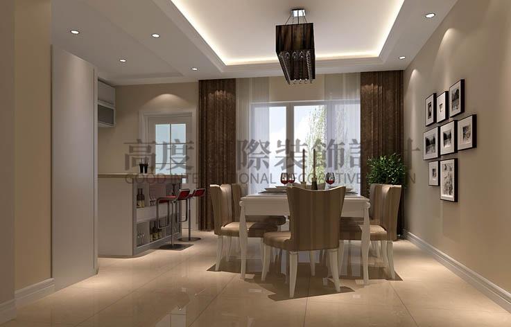 中铁十六局 四室两厅 简约 150平米 7万元 高度国际 希文 餐厅图片来自高度国际装饰宋增会在四室两厅两卫的分享