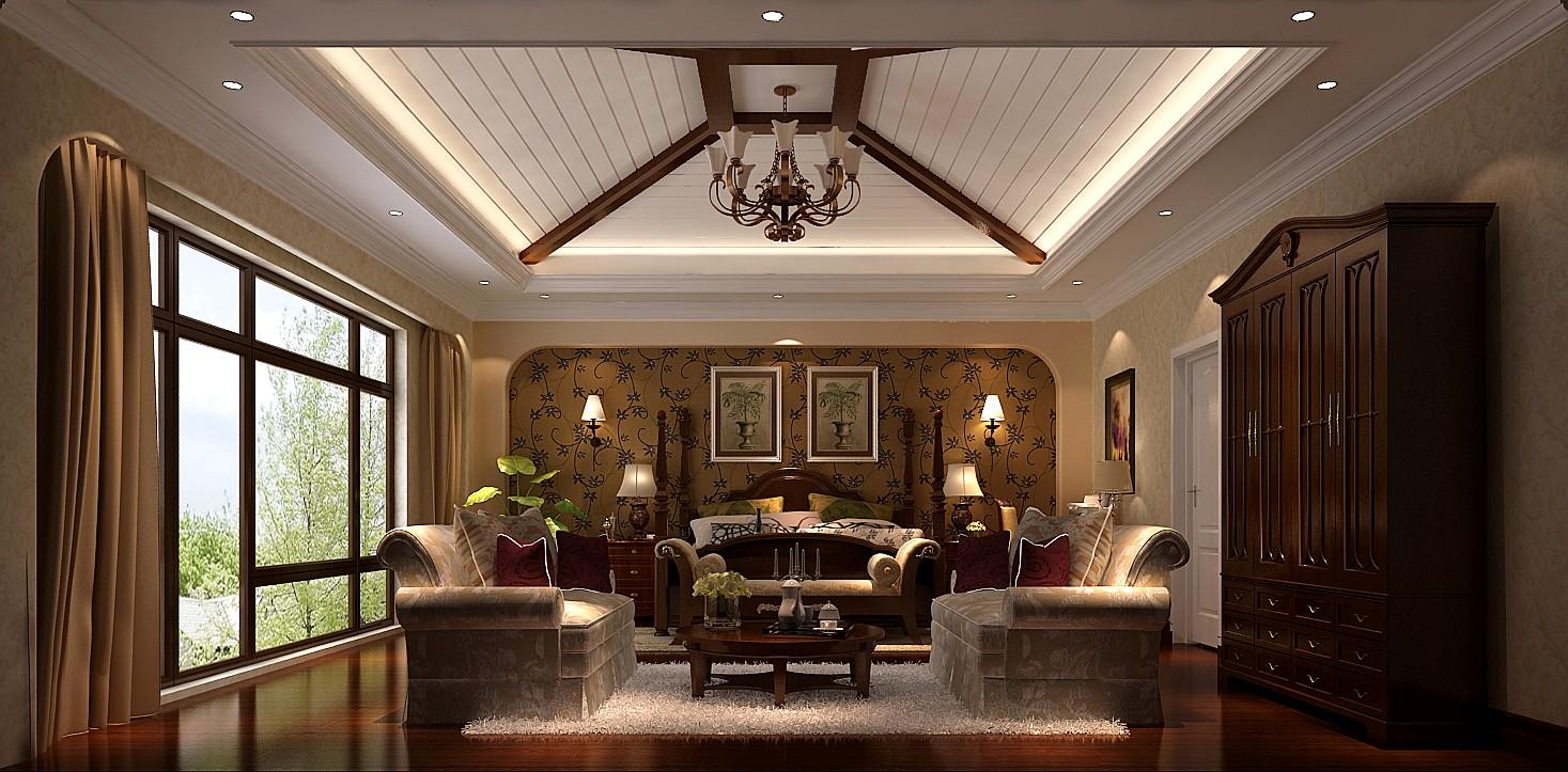 别墅 托斯卡纳 小资 收纳 卧室图片来自沙漠雪雨在君山高尔夫425平托斯卡纳别墅的分享