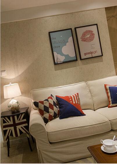 简约 欧式 田园 混搭 别墅 白领 80后 小资 客厅图片来自上海倾雅装饰有限公司在65平米小美式风的分享