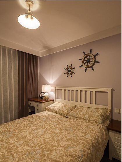 简约 欧式 田园 混搭 别墅 白领 80后 小资 卧室图片来自上海倾雅装饰有限公司在65平米小美式风的分享
