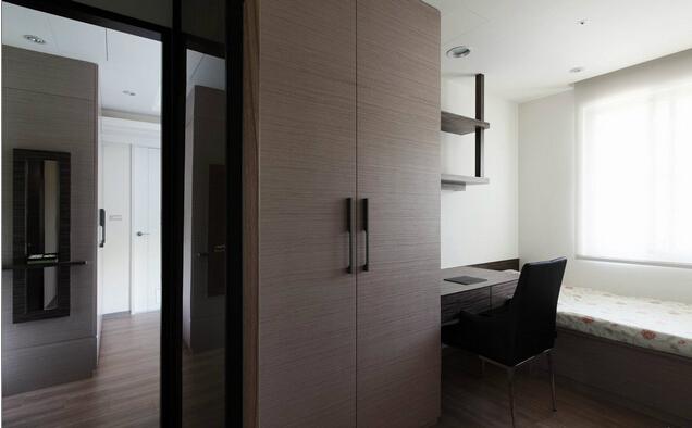 简约 田园 混搭 三居 客厅 卧室 厨房图片来自上海倾雅装饰有限公司在92平三居古典美式的分享