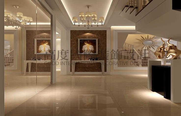中铁十六局 四室两厅 简约 150平米 7万元 高度国际 希文 玄关图片来自高度国际装饰宋增会在四室两厅两卫的分享