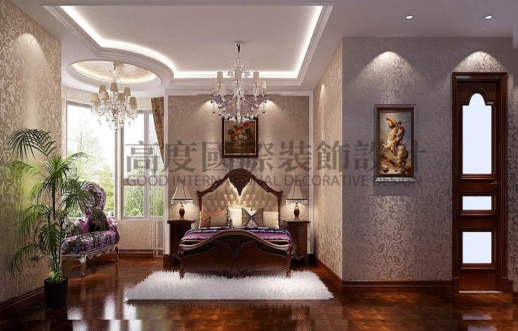 金隅翡丽 4居室 简欧 180㎡ 10万 高度国际 希文 卧室图片来自高度国际装饰宋增会在金隅翡丽180㎡的分享