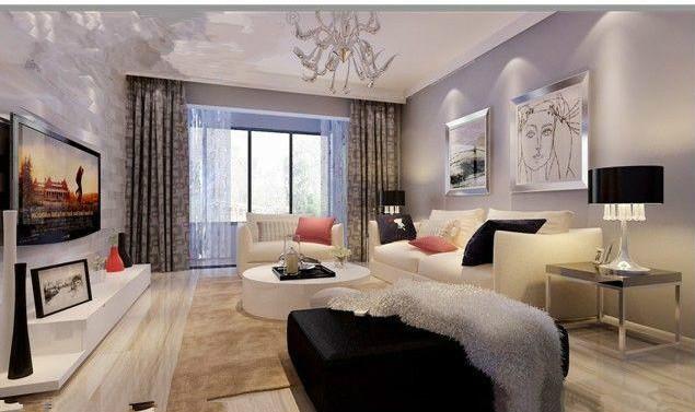 简约 三居 客厅图片来自超凡装饰黄建生在建业贰号城邦142平现代简约的分享