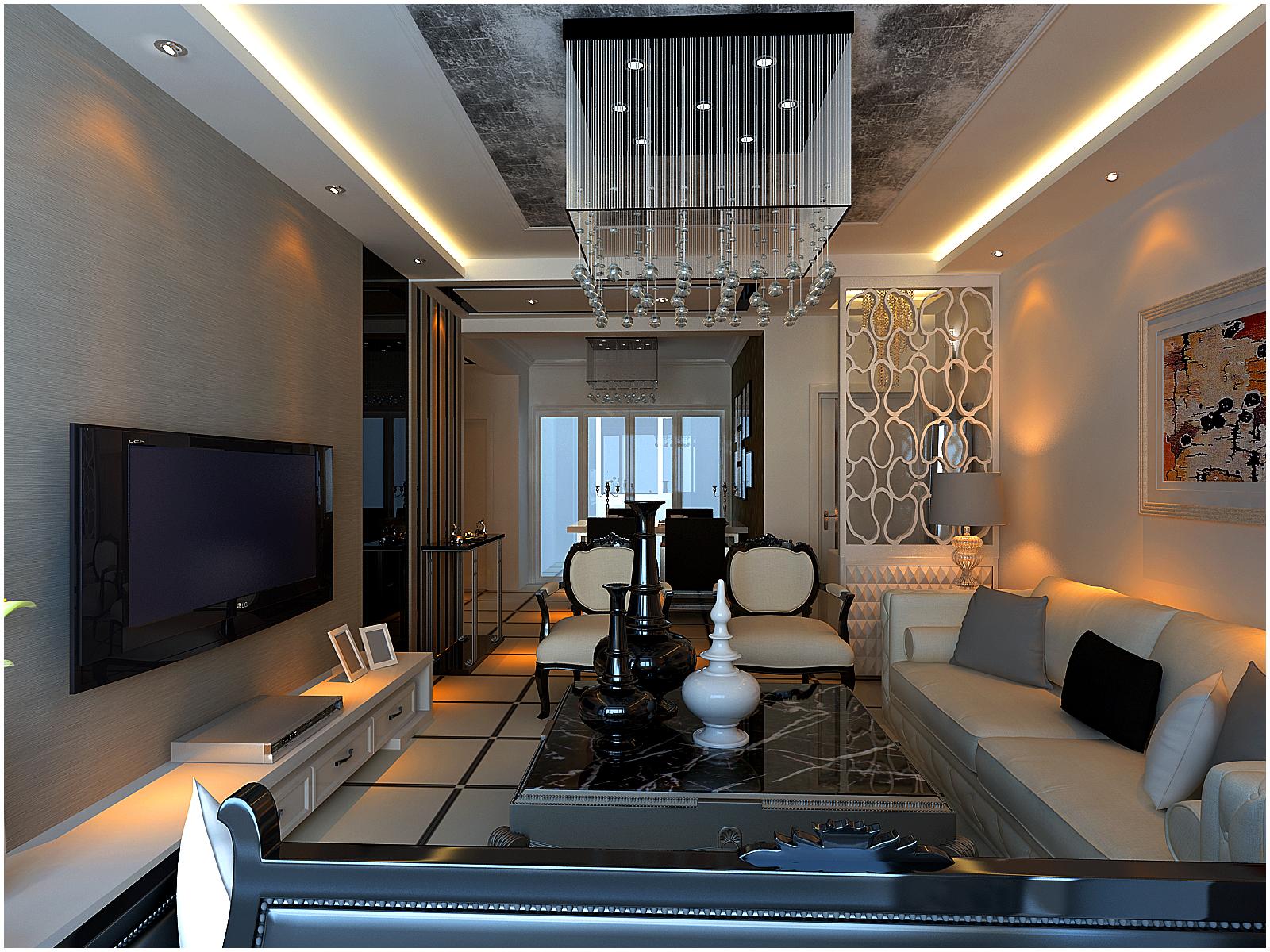 欧式 三居 客厅图片来自百家设计小刘在新加坡城104平的分享