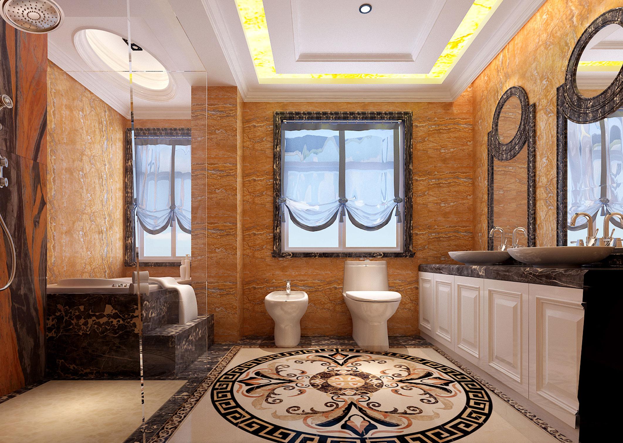别墅 简约 欧式 80后 白领 小资 卫生间图片来自好易家装饰集团在官龙名苑的分享