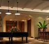 为业主精心设计的活动休闲室、闲暇时间可以打打台球、喝喝小酒。