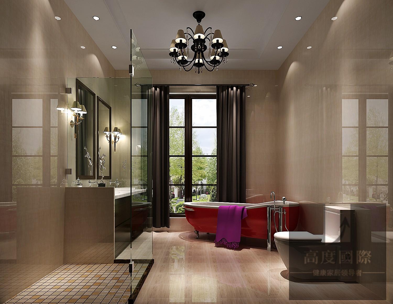 别墅 欧式 简约 卫生间图片来自高度国际装饰韩冰在千章墅简欧装修效果的分享