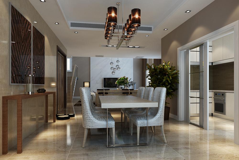 简约 别墅 白领 别墅装修 装修设计 装修风格 现代 餐厅图片来自尚层别墅设计在澳景园 现代简约的分享
