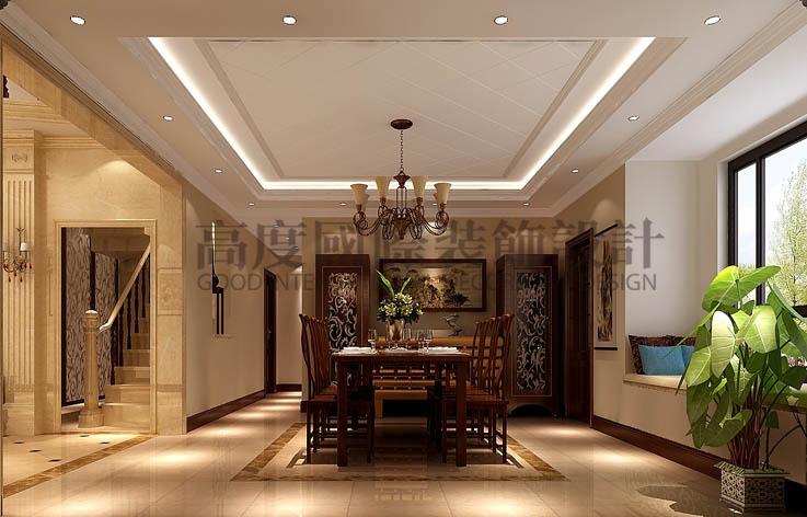 御翠尚府 四室两厅 欧式 260平米 16平米 高度国际 希文 餐厅图片来自高度国际装饰宋增会在高丶大丶上的分享