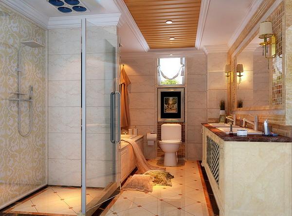 欧式 别墅 白领 世茂锦绣 武汉实创 卫生间图片来自静夜思在世茂锦绣长江220平典雅欧式设计的分享
