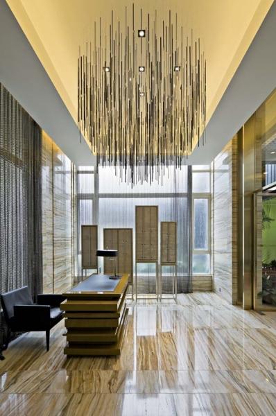 简约 别墅 四居 成都装修 成都装饰 客厅图片来自华西装饰集团在悦水蓝山315m²自然简单的分享