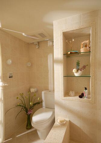 简约 田园 混搭 二居 旧房改造 卫生间图片来自上海倾雅装饰有限公司在蓝色港湾的分享