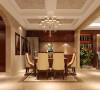 此户型的设计为混搭风格,一层和二层以欧式为主,地下室的设计是以中式为主。