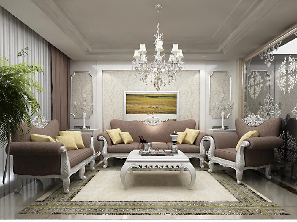 欧式 三居 小资 客厅图片来自天津宜家宜装饰在假日风景的分享