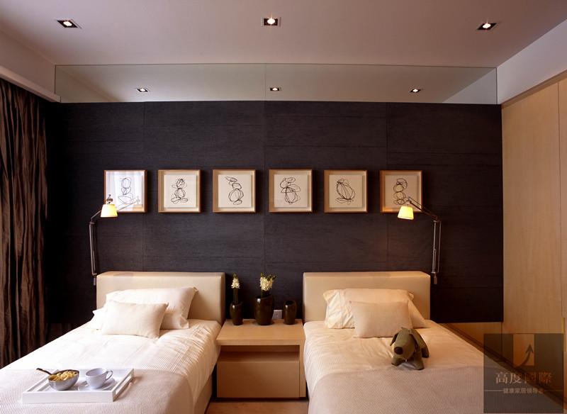 别墅 简约 港式 生活格调 卧室图片来自高度国际装饰韩冰在港式简约实景效果的分享