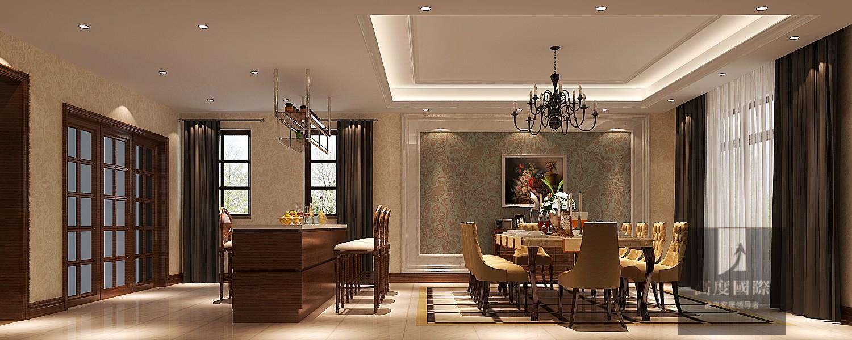 别墅 欧式 简约 餐厅图片来自高度国际装饰韩冰在千章墅简欧装修效果的分享