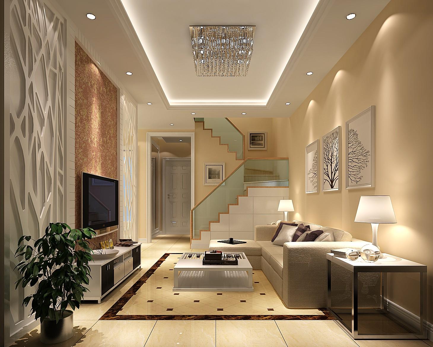 简约 田园 二居 客厅图片来自高度国际装饰刘玉在K2百合湾一号院----平静而惬意的分享