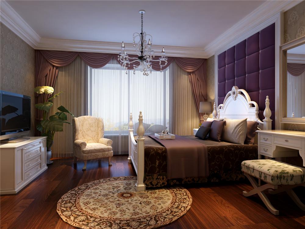 简约 三居 白领 收纳 80后 小资 卧室图片来自实创装饰完美家装在端庄气息造就灵动空间的分享