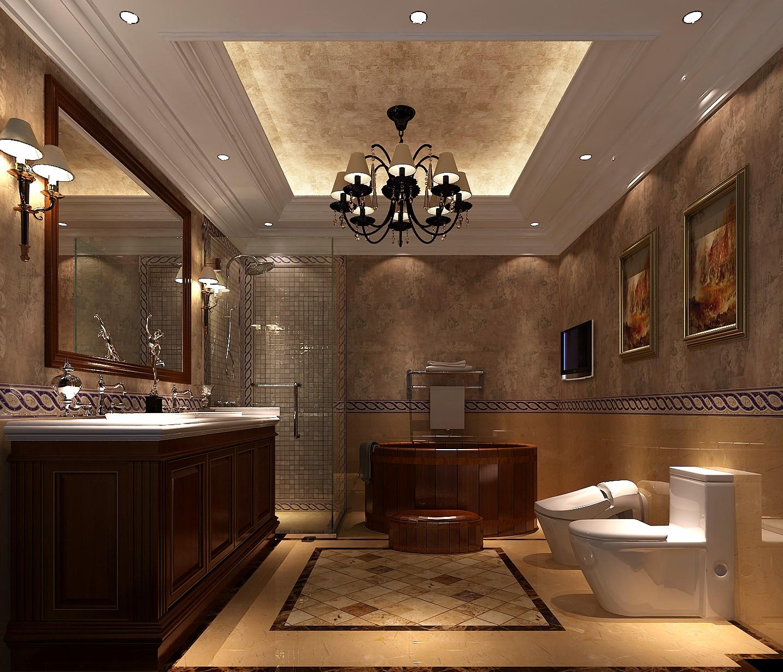 托斯卡纳 卫生间图片来自高度国际装饰黄帅在牛奶加咖啡的分享
