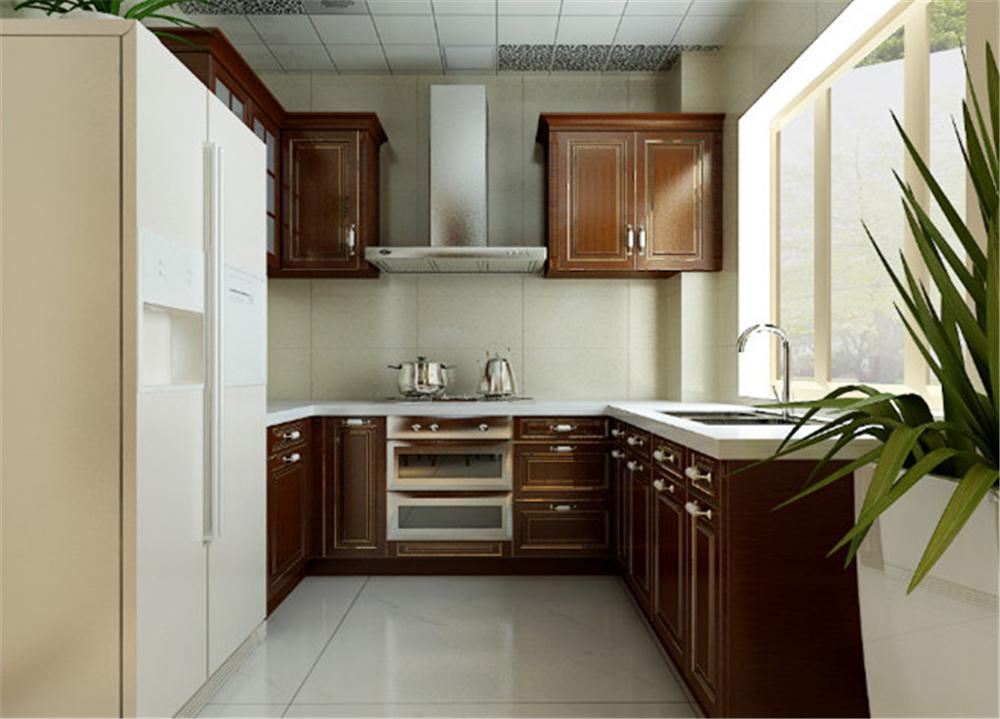 混搭 三居 白领 收纳 旧房改造 厨房图片来自实创装饰完美家装在美式风混搭新古典元素大气奢华的分享